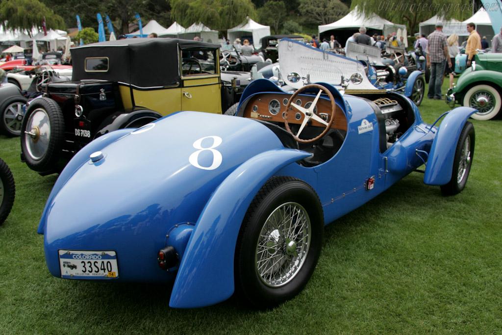 Bugatti Type 57   - 2010 The Quail, a Motorsports Gathering
