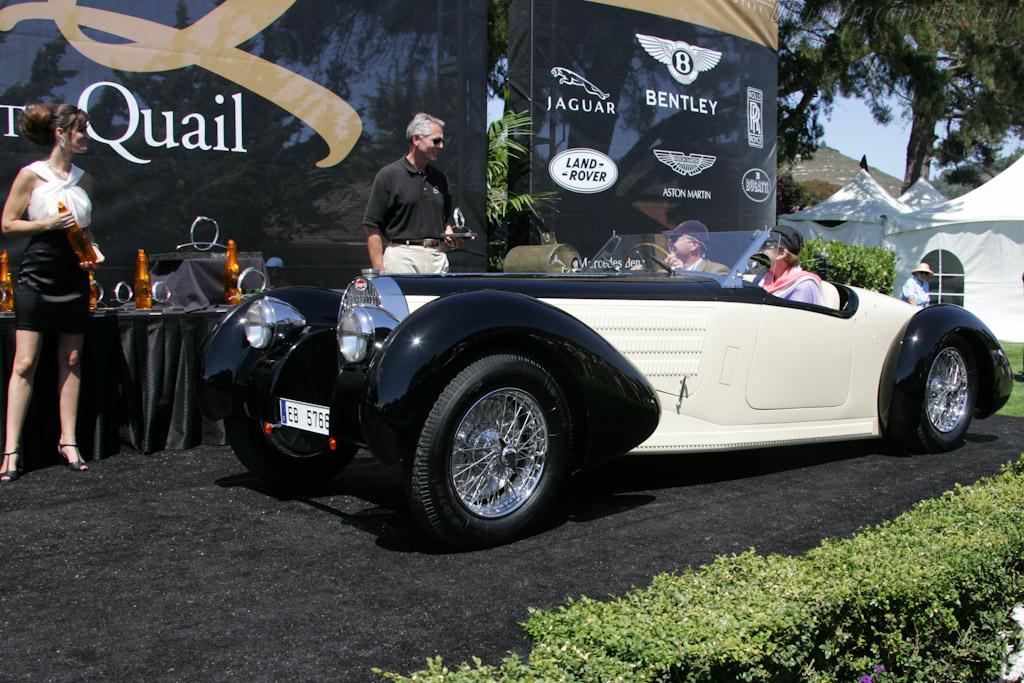 Bugatti Type 57 Aravis    - 2010 The Quail, a Motorsports Gathering
