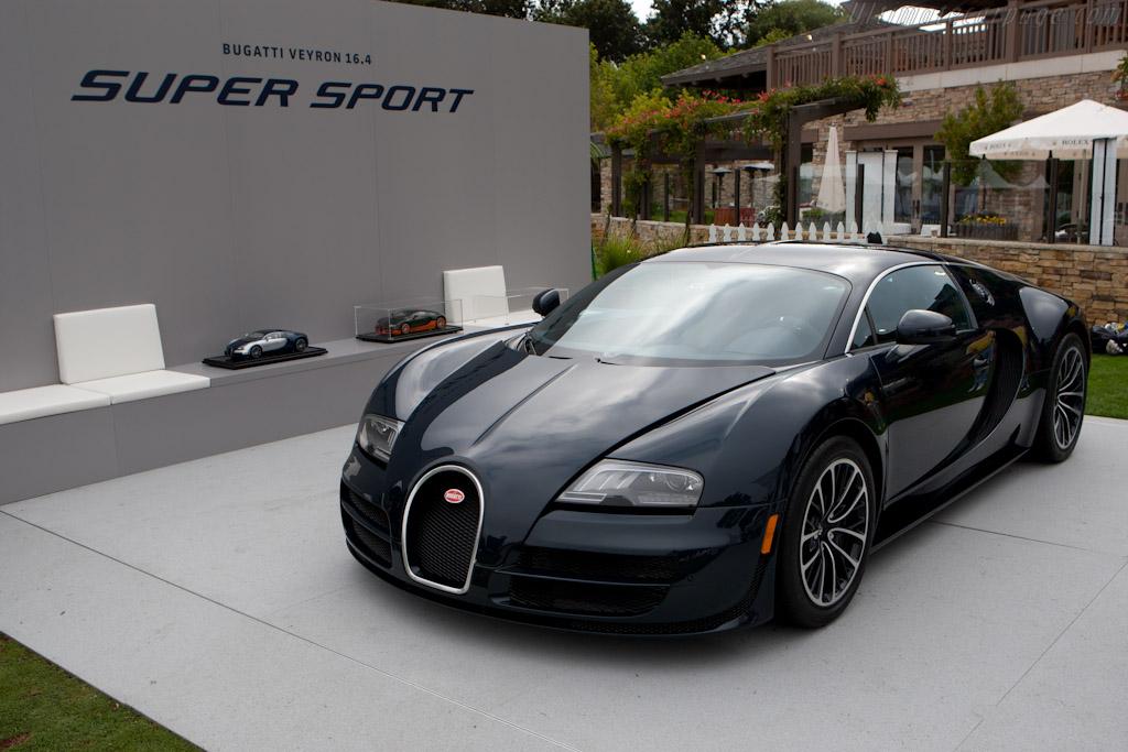 Bugatti Veyron 16.4 Super Sport - Chassis: VF9NG252X1M795024   - 2010 The Quail, a Motorsports Gathering