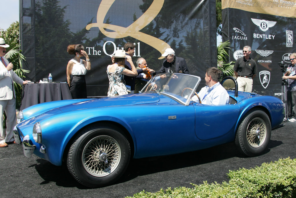 Carroll Shelby and his Cobra 260 - Chassis: CSX2000   - 2010 The Quail, a Motorsports Gathering