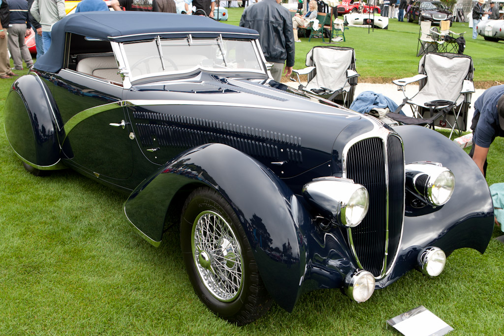 Delahaye 135 Competition Disapearing Top Convertible    - 2010 The Quail, a Motorsports Gathering