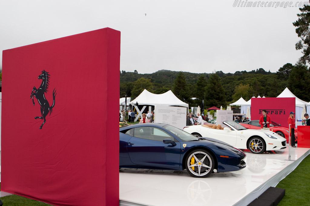 Ferrari display    - 2010 The Quail, a Motorsports Gathering