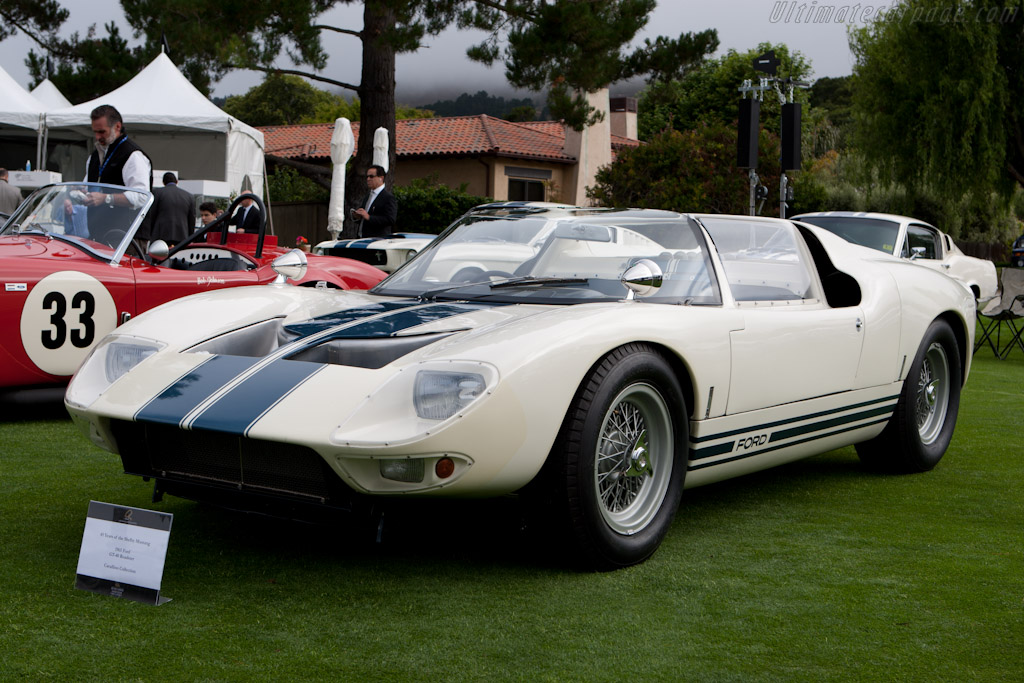 Ford Gt Roadster Chassis Gt 108 2010 The Quail A