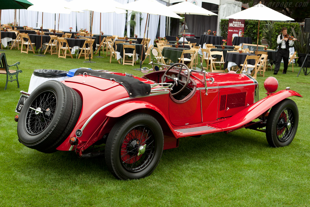 Alfa Romeo 6C 1750 SS - Chassis: 0312884 - Entrant: The Hon. Sir Michael Kadoorie  - 2011 The Quail, a Motorsports Gathering