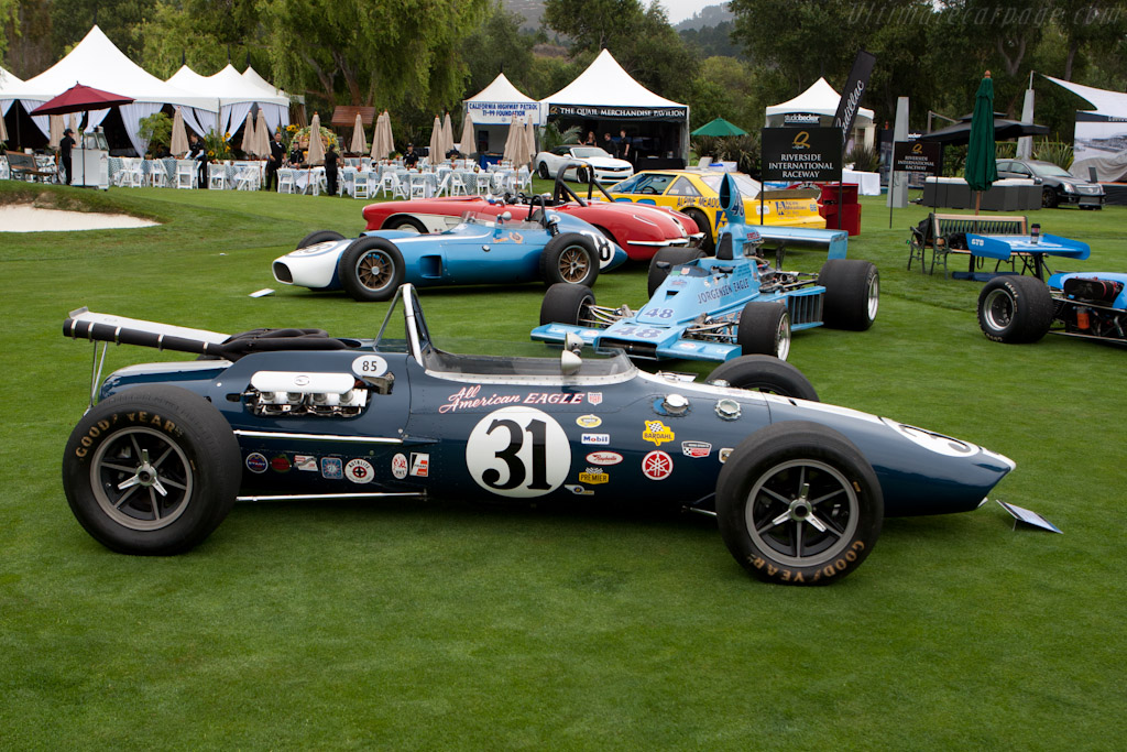Eagle Mk 2 Ford - Chassis: 201  - 2011 The Quail, a Motorsports Gathering