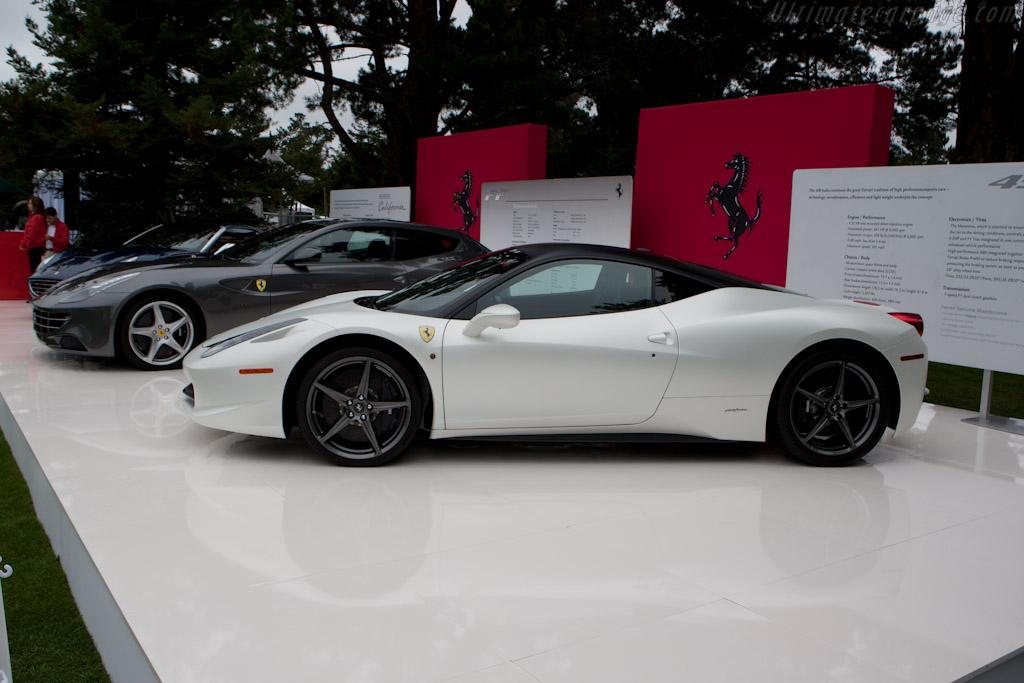 Ferrari 458 Italia    - 2011 The Quail, a Motorsports Gathering