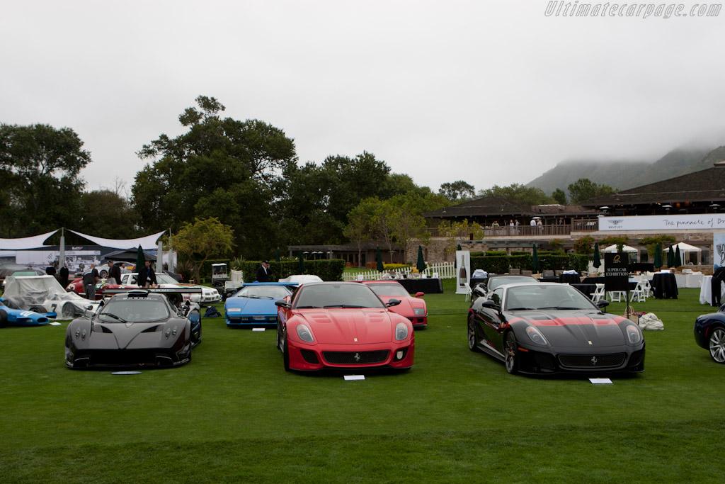 Ferrari 599 GTO    - 2011 The Quail, a Motorsports Gathering