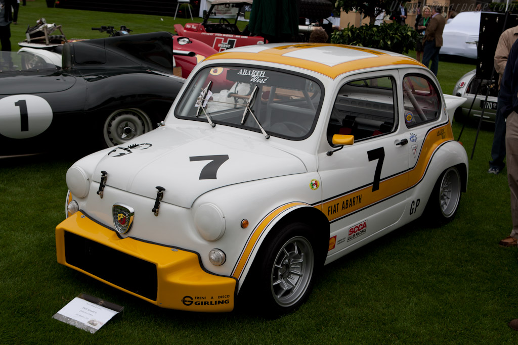 Fiat Abarth Berlina Corsa   - 2011 The Quail, a Motorsports Gathering