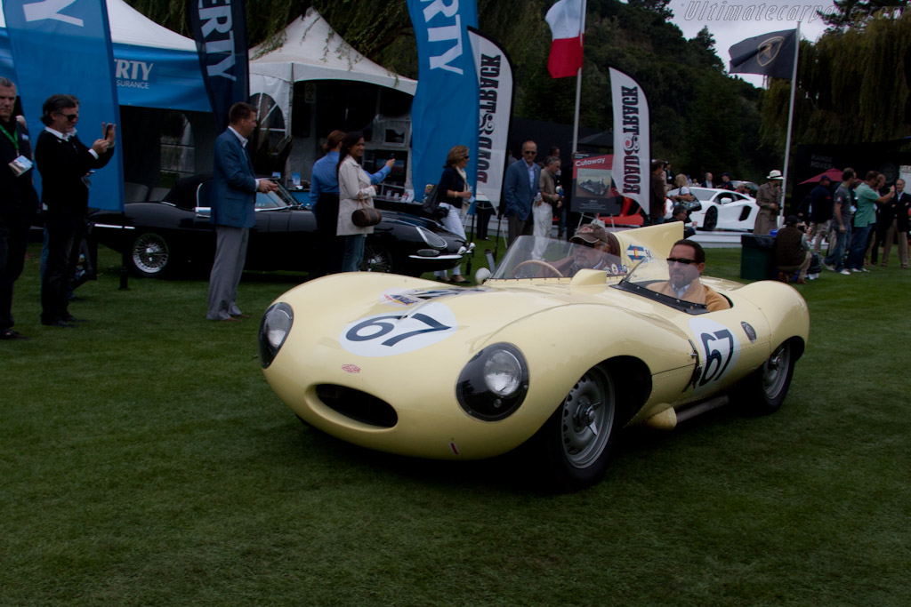 Jaguar D-Type - Chassis: XKD 552   - 2011 The Quail, a Motorsports Gathering
