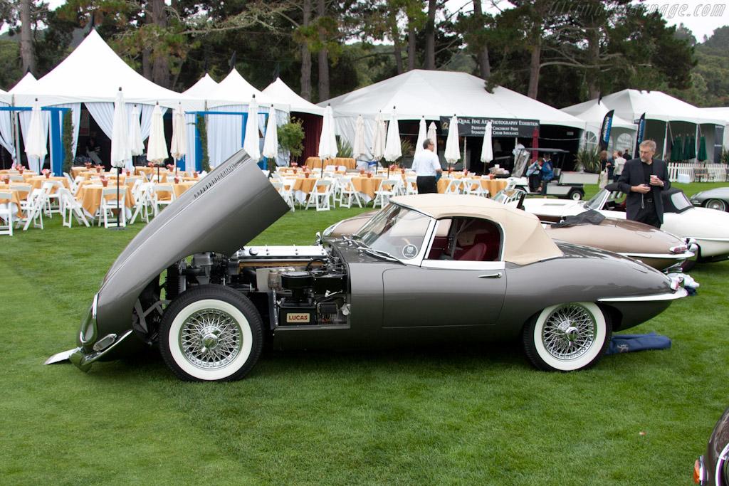 Jaguar E-Type    - 2011 The Quail, a Motorsports Gathering