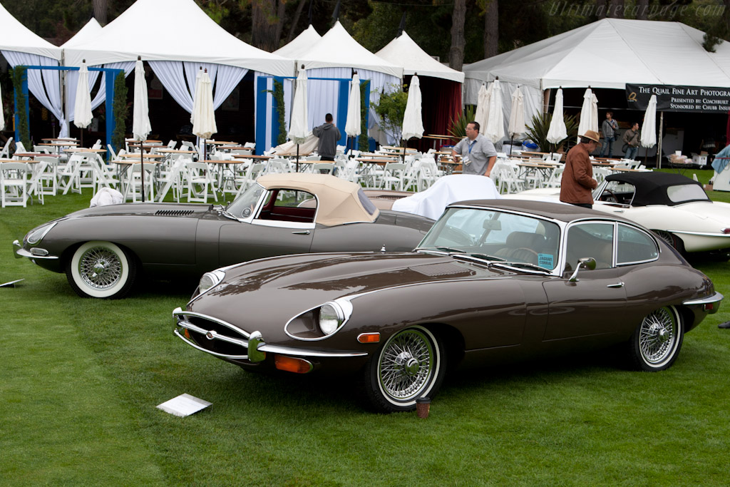 Jaguar E-Type S3    - 2011 The Quail, a Motorsports Gathering