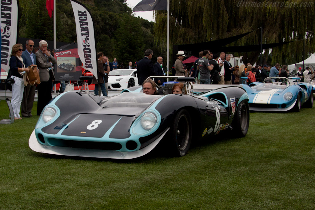 Lola T70 Spyder - Chassis: SL70/10 - Driver: Bryon Defoor  - 2011 The Quail, a Motorsports Gathering