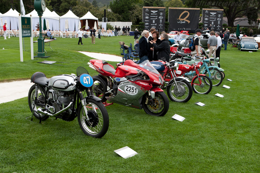 Motorcycles    - 2011 The Quail, a Motorsports Gathering