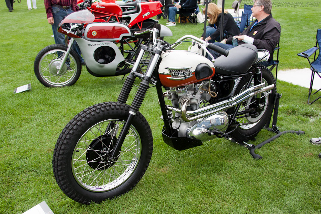 Triumph T110 Desert Sled    - 2011 The Quail, a Motorsports Gathering