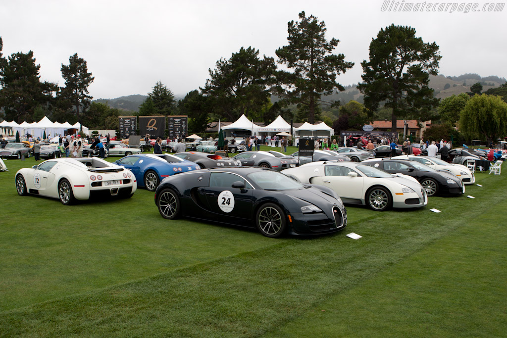 Veyrons    - 2011 The Quail, a Motorsports Gathering