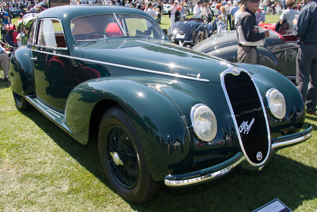Alfa Romeo 6C 2500 SS Touring Coupe    - 2012 The Quail, a Motorsports Gathering