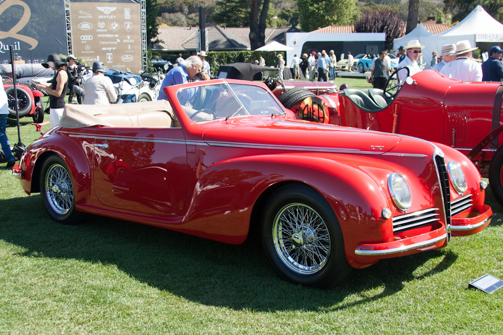 Alfa Romeo 6C 2500 Touring Cabriolet    - 2012 The Quail, a Motorsports Gathering