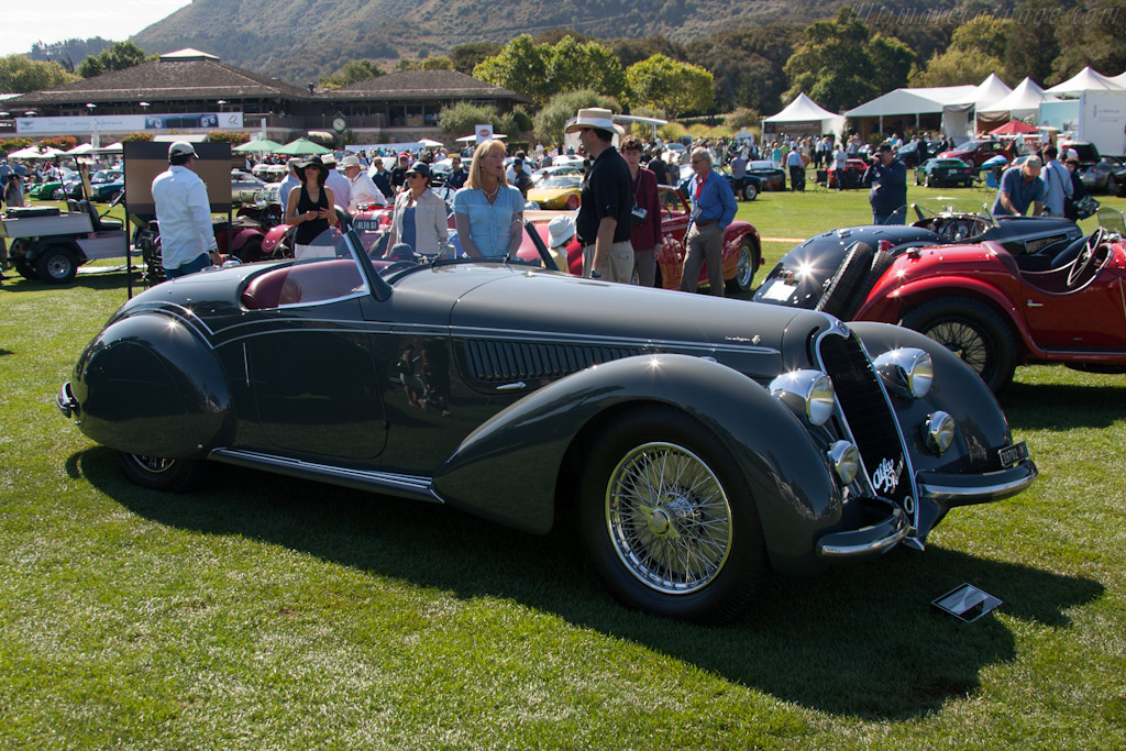Alfa Romeo 8C 2900B Touring Spider    - 2012 The Quail, a Motorsports Gathering