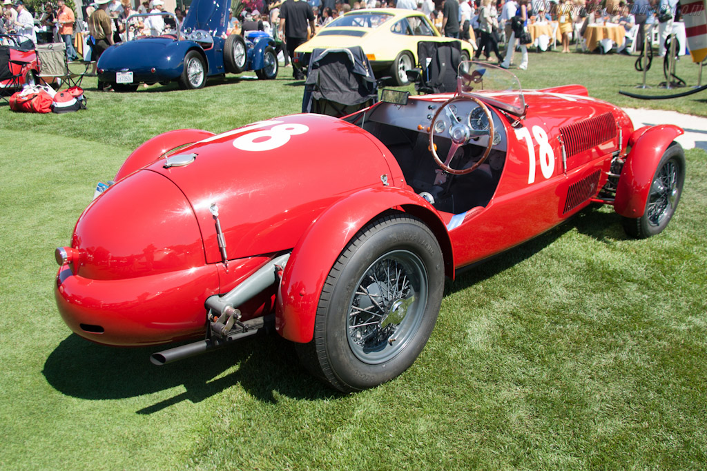 Ferrari 159 S - Chassis: 002C - Entrant: James M. Glickenhaus  - 2012 The Quail, a Motorsports Gathering