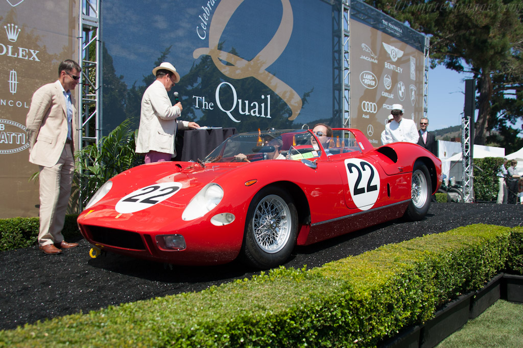 Ferrari 250 P - Chassis: 0812   - 2012 The Quail, a Motorsports Gathering