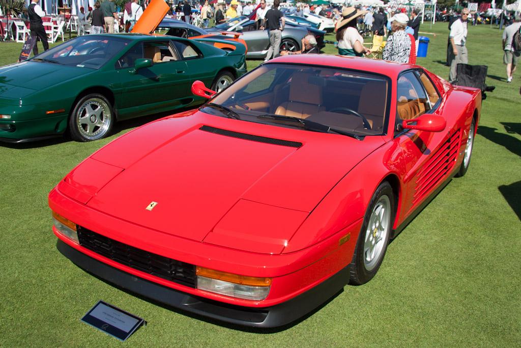 Ferrari Testarossa    - 2012 The Quail, a Motorsports Gathering