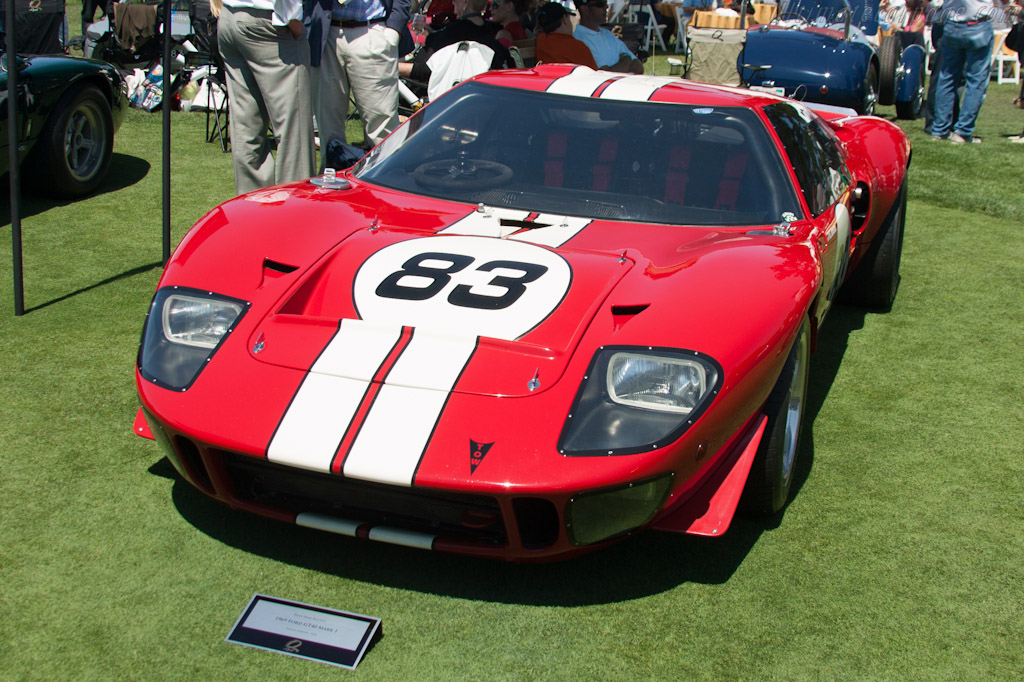 Ford GT40 - Chassis: GT40P/1083   - 2012 The Quail, a Motorsports Gathering