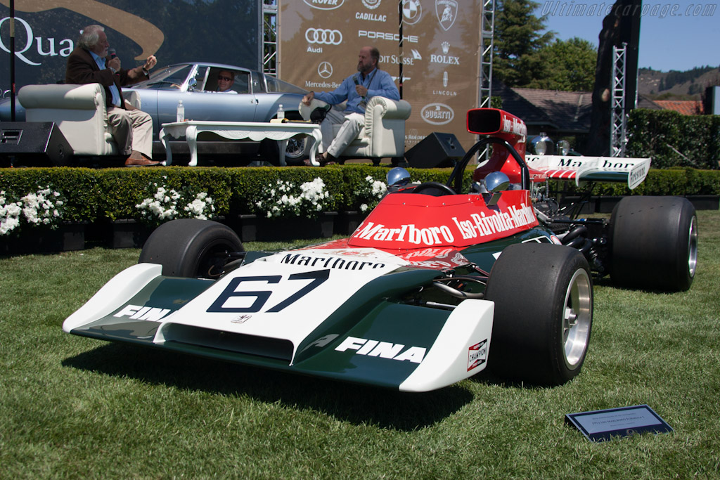 Iso Marlboro F1 - Chassis: FX3/1   - 2012 The Quail, a Motorsports Gathering