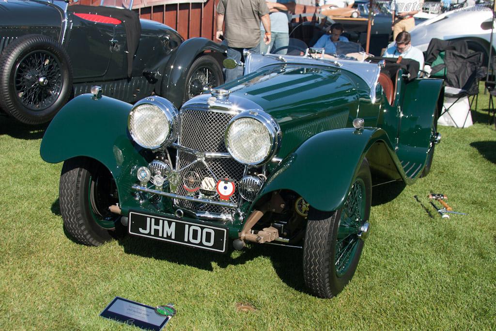 Jaguar SS100    - 2012 The Quail, a Motorsports Gathering