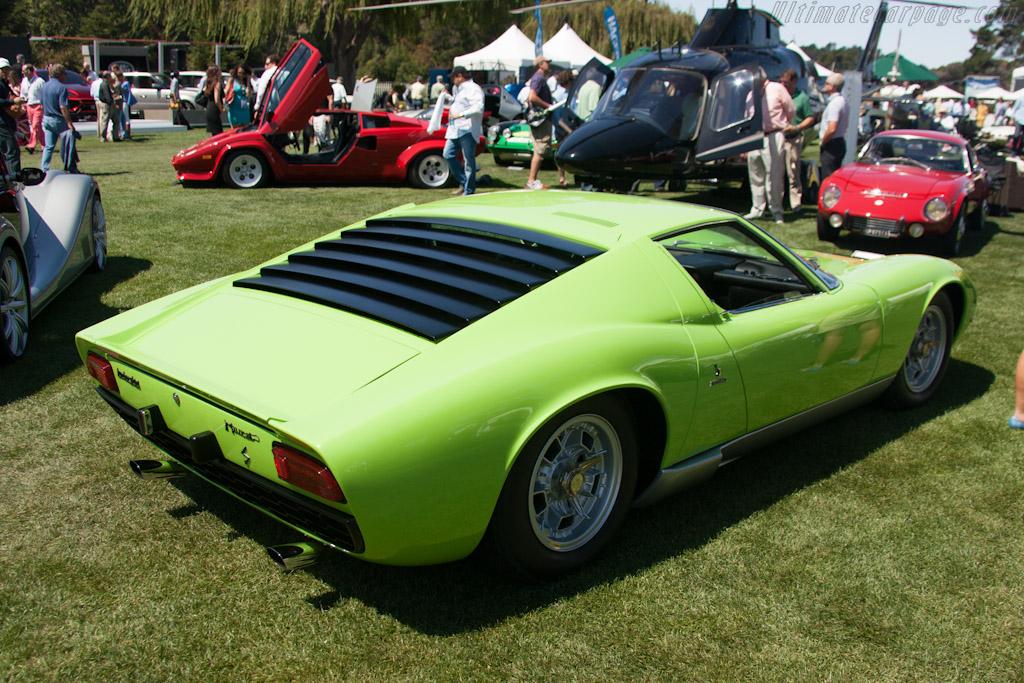 Lamborghini Miura S    - 2012 The Quail, a Motorsports Gathering