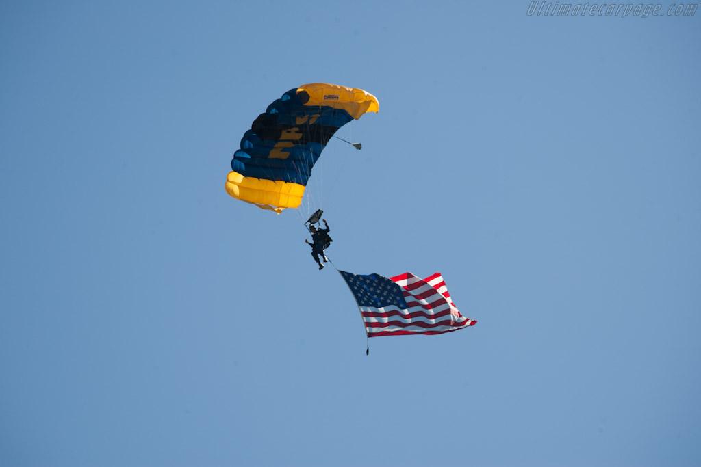 Naval Post Graduate School Parachute Team    - 2012 The Quail, a Motorsports Gathering