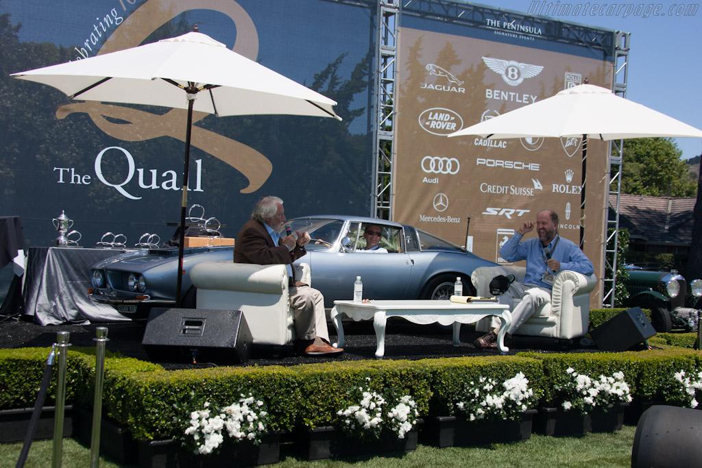 Piero Rivolta and Winston Goodfellow   - 2012 The Quail, a Motorsports Gathering