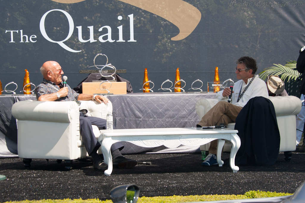 Sir Stirling Moss and Alain DeCadenet    - 2012 The Quail, a Motorsports Gathering