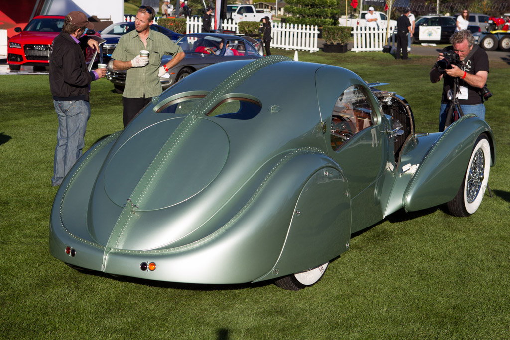 Bugatti Type 57 Aerolithe Chassis 57104 Entrant