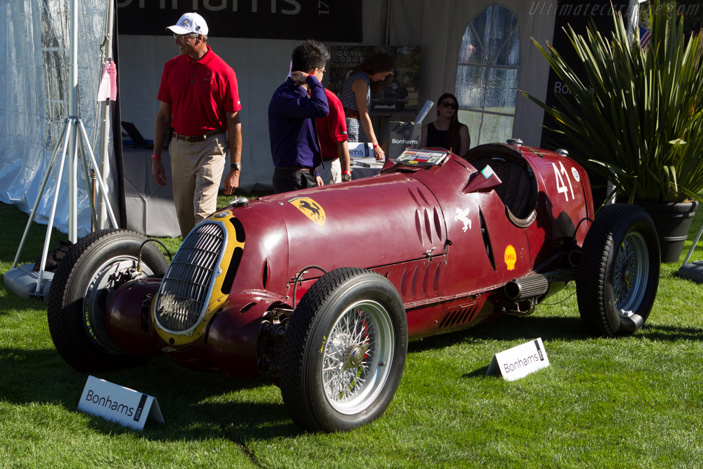 Alfa Romeo 8C 35 - Chassis: 50013 - Entrant: Bonhams  - 2013 The Quail, a Motorsports Gathering