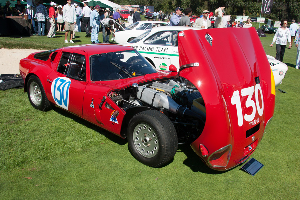 Alfa Romeo TZ2 - Chassis: AR750106 - Entrant: The William Lyon Family  - 2013 The Quail, a Motorsports Gathering