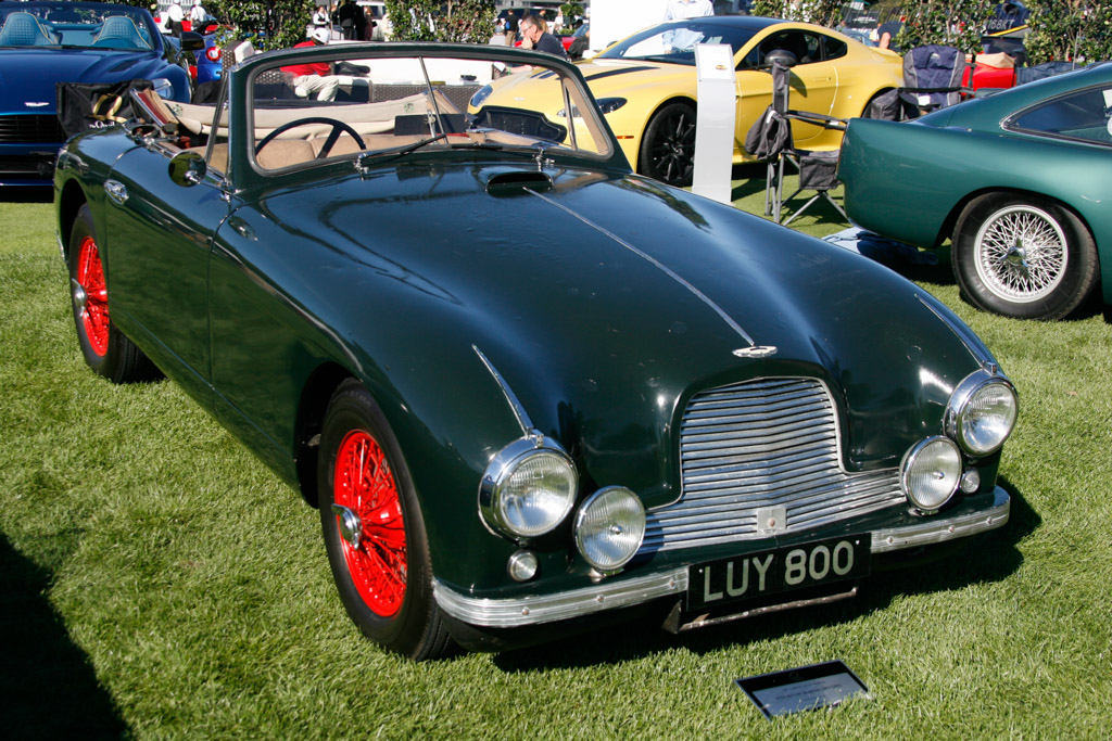 Aston Martin DB2 Drophead Coupe - Chassis: LML/50/400 - Entrant: Jeffrey Long  - 2013 The Quail, a Motorsports Gathering