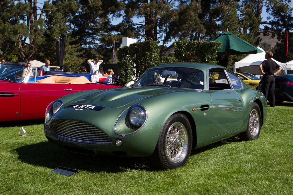 Aston Martin DB4 GT Zagato - Chassis: DB4GT/0186/R - Entrant: Peter Read - 2013 The Quail, a Motorsports Gathering