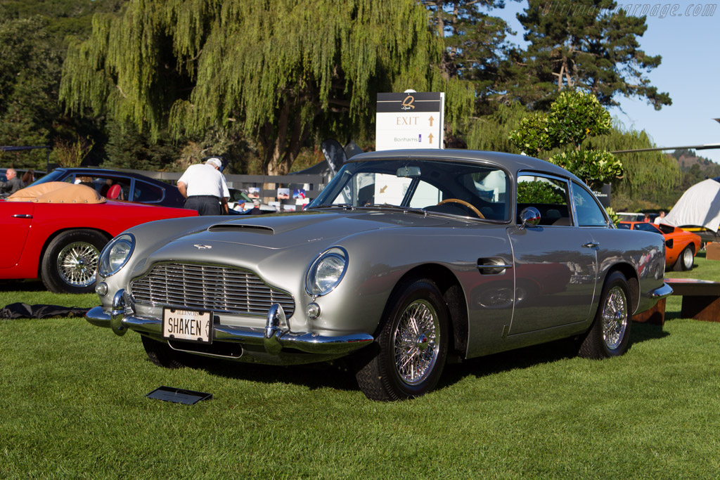 Aston Martin DB5  - Entrant: David MacNeil  - 2013 The Quail, a Motorsports Gathering