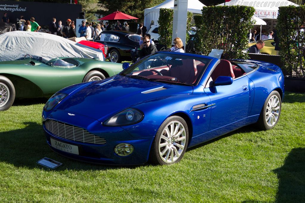 Aston Martin Vanquish Zagato Roadster  - Entrant: Cynthia & Robert J. Lepofsky  - 2013 The Quail, a Motorsports Gathering