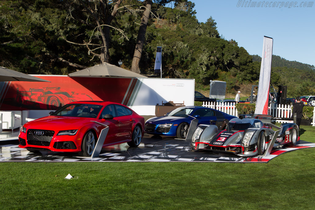 Audi R18 Ultra 2013 The Quail A Motorsports Gathering