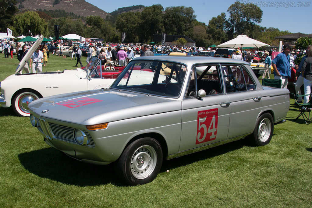 BMW 1800 TI/SA - Chassis: 995184 - Entrant: Patricia de Wit  - 2013 The Quail, a Motorsports Gathering