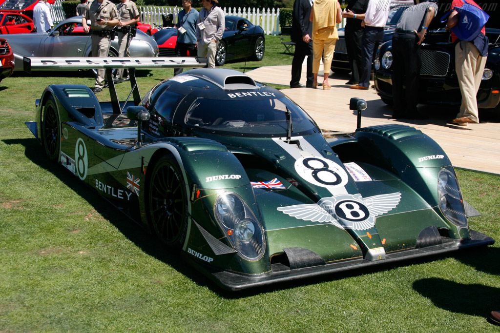 Bentley EXP Speed 8 - Chassis: 002/6 - Entrant: Bentley Motors  - 2013 The Quail, a Motorsports Gathering