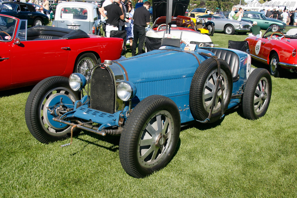 Bugatti Type 35B  - Entrant: Martin McGlone  - 2013 The Quail, a Motorsports Gathering