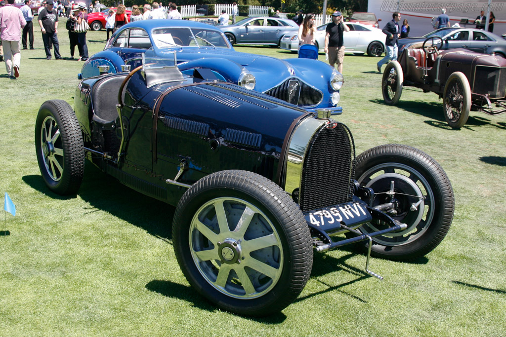Bugatti Type 51 - Chassis: 51132 - Entrant: Mullin Automotive Museum  - 2013 The Quail, a Motorsports Gathering