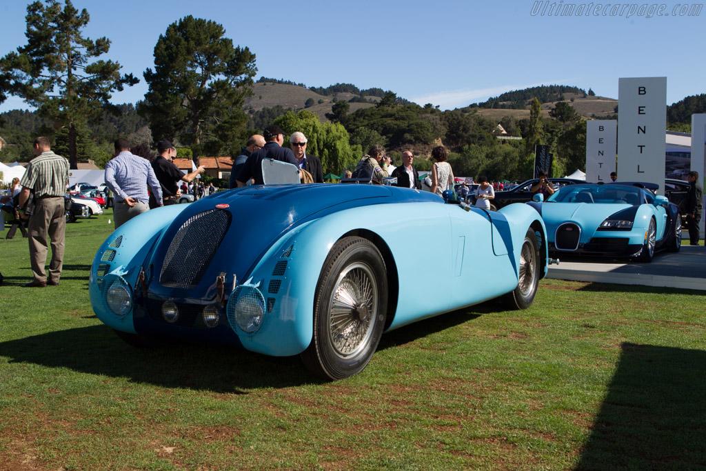 Bugatti Type 57G Tank - Chassis: 57335 - Entrant: Simeone Automotive Museum  - 2013 The Quail, a Motorsports Gathering