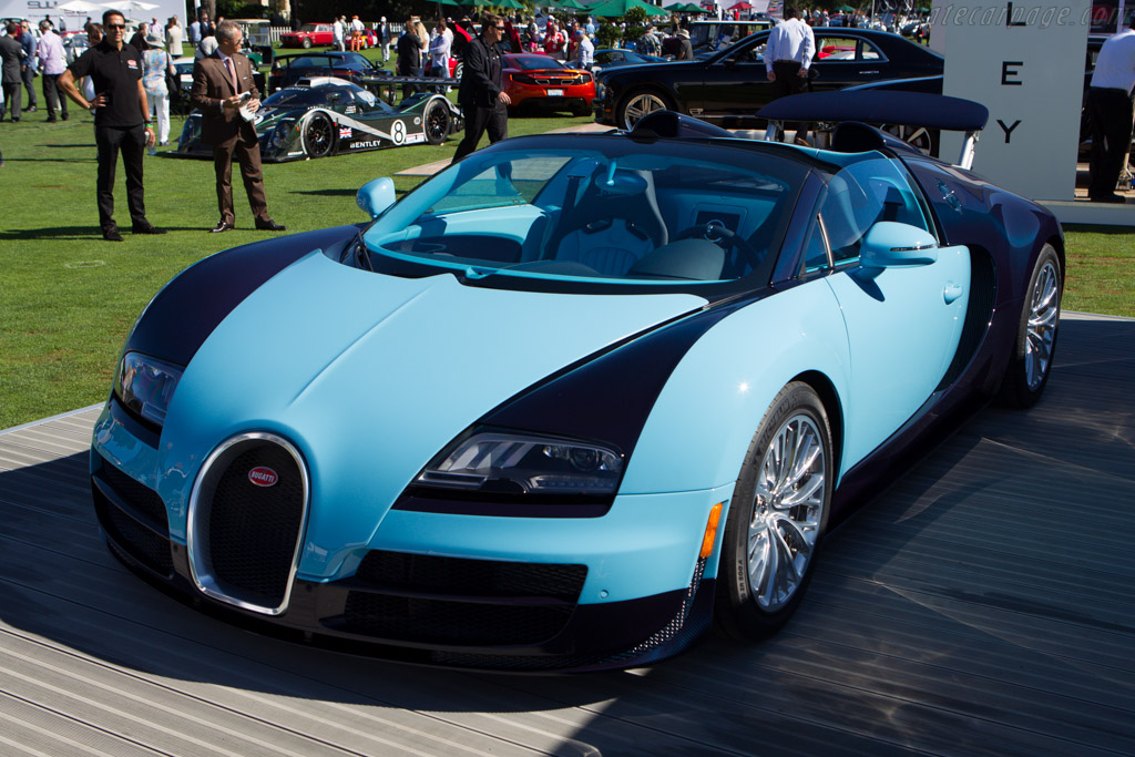 Bugatti Veyron Grand Sport Jean Pierre Wimille  - Entrant: Bugatti Automobiles S.A.S.  - 2013 The Quail, a Motorsports Gathering