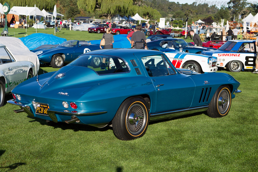 Chevrolet Corvette 396/425 Coupe  - Entrant: William & Lisa Cash  - 2013 The Quail, a Motorsports Gathering