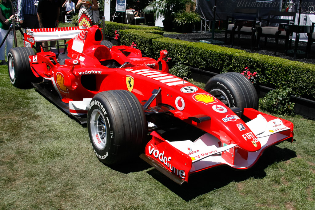 Ferrari 248 F1 - Chassis: 254 - Entrant: William 'Chip' Connor  - 2013 The Quail, a Motorsports Gathering