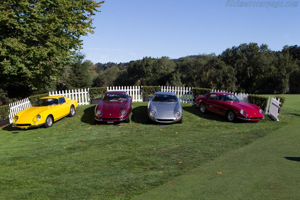 Ferrari 275 GTBs    - 2013 The Quail, a Motorsports Gathering