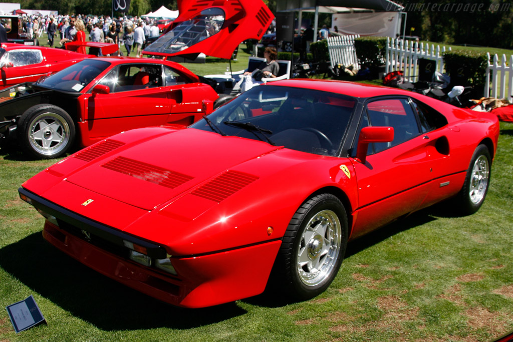 Ferrari 288 GTO - Chassis: 54805 - Entrant: Henry Bandet  - 2013 The Quail, a Motorsports Gathering